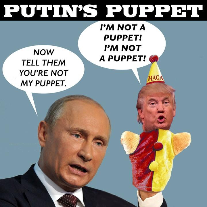 Putin puppet, From InText