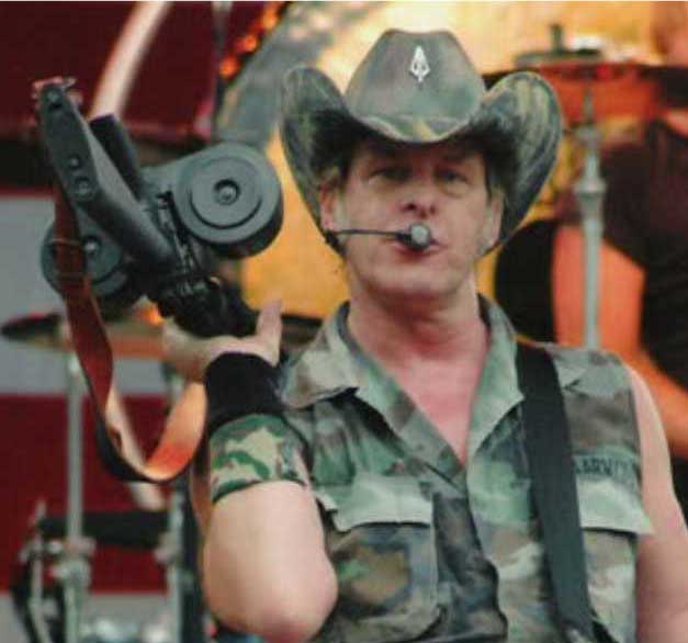 Thrill killer Ted Nugent is an NRA board member, From InText
