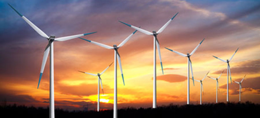 Wind turbines., From InText
