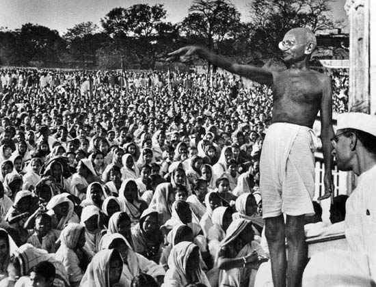 Mahatma Gandhi — and his