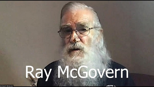 Ray McGovern at the Lawyers' Committee 9/11 Anniversary Event 2020