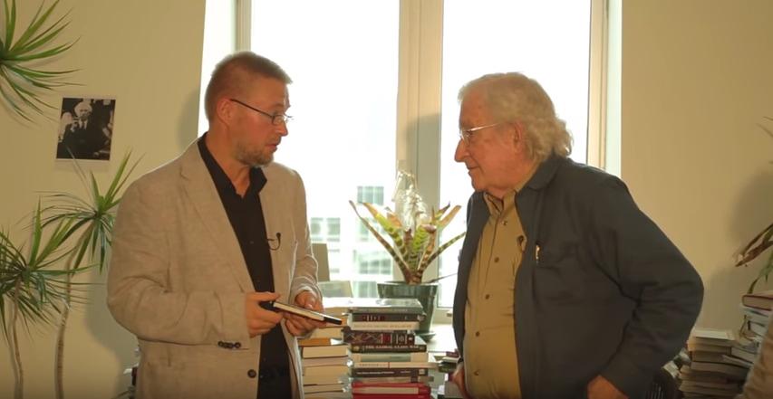 Andre Vltchek with Noam Chomsky, From InText