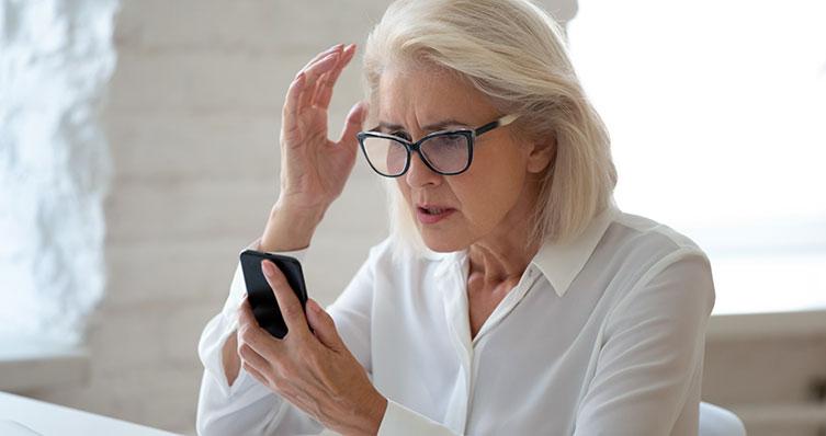 A common future scene when retirees examine their pension savings
