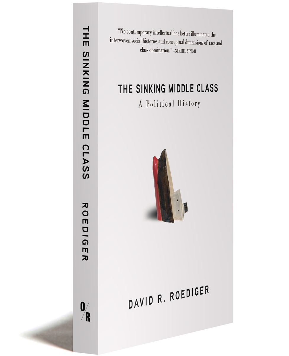 book cover The Sinking Middle Class