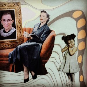 In honor of Ruth Bader Ginsberg - Show Up, From InText