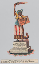 Bar Thuldy's statue,