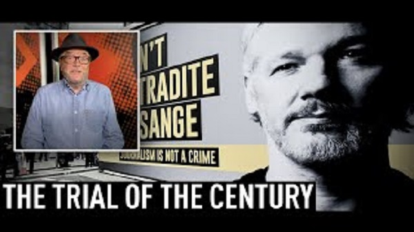 The Trial of The Century Julian Assange revealing war crimes is the real reason for extradition - unable to be convicted for journalism he stands accused of trumped-up charges