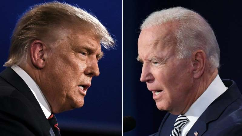 Trump v. Biden 2020