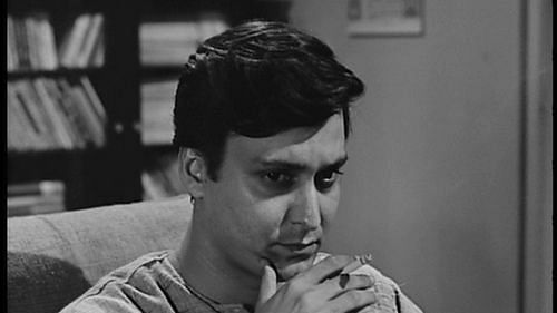 Soumitra Chatterjee in a Satyajit Ray film, From Uploaded