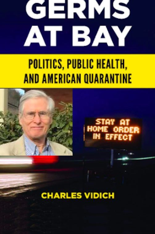 New book by Charles Vidich