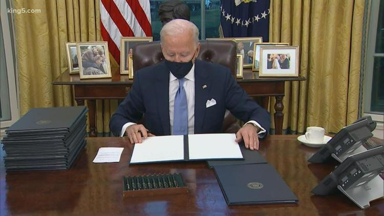President Biden signs order to rejoin Paris climate accord, From Uploaded