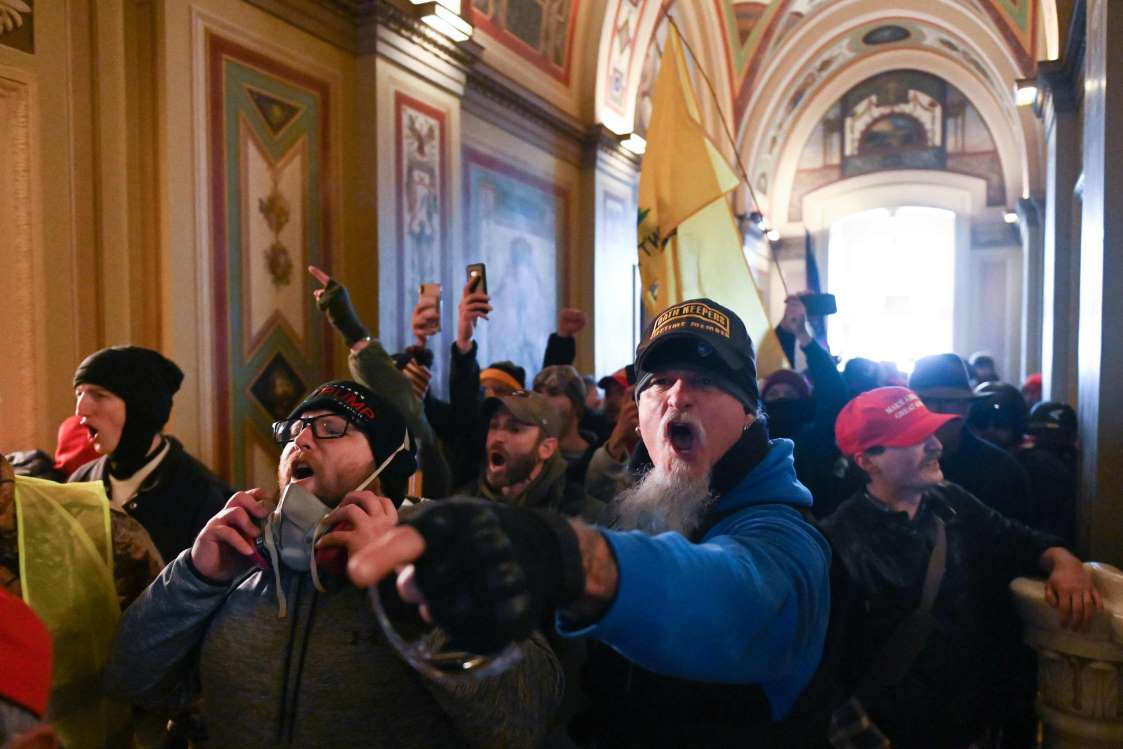 Once inconceivable: rioters in the halls of Congress, From Uploaded