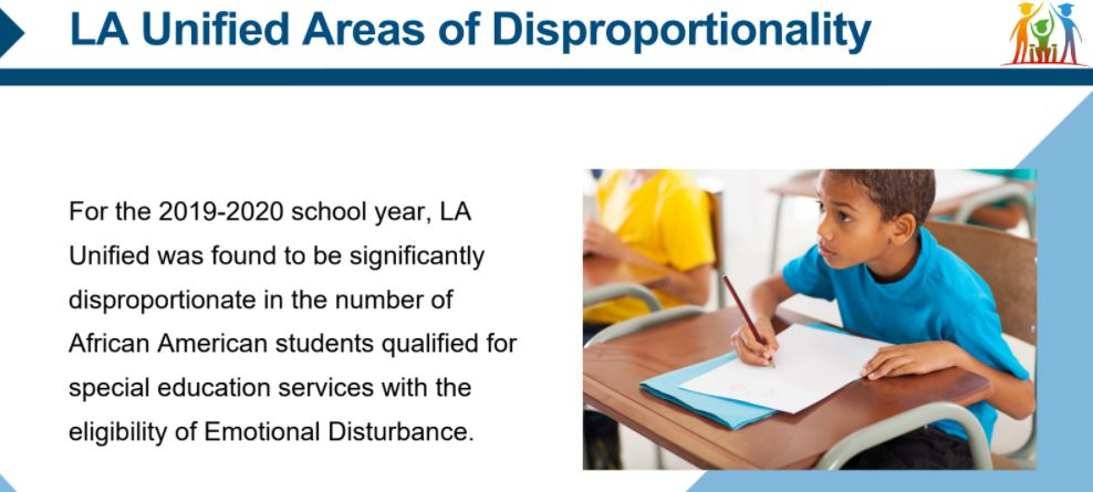 From LAUSD Presentation