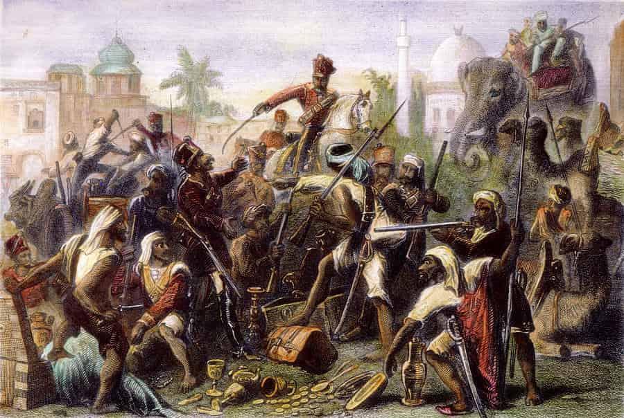The Sepoy Mutiny, 1857, From Uploaded