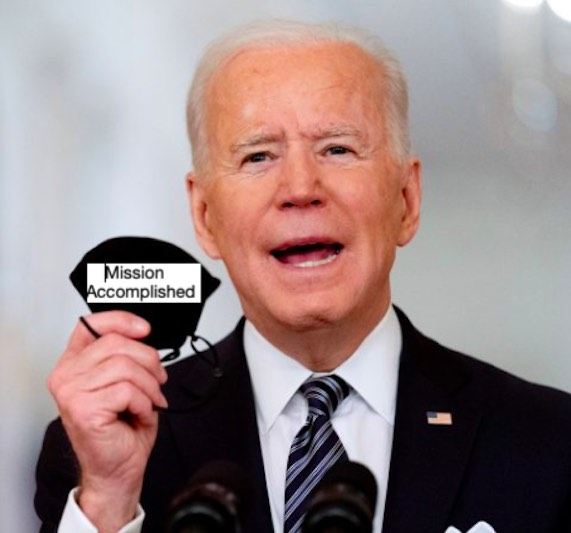 Joe Biden's declares pandemic crisis over for the vaccinated