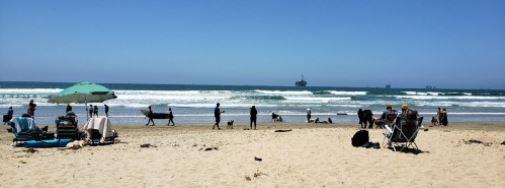Huntington Beach Dog Beach