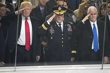 Trump's Eyes Are on Something Else