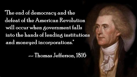 The End if Democracy
