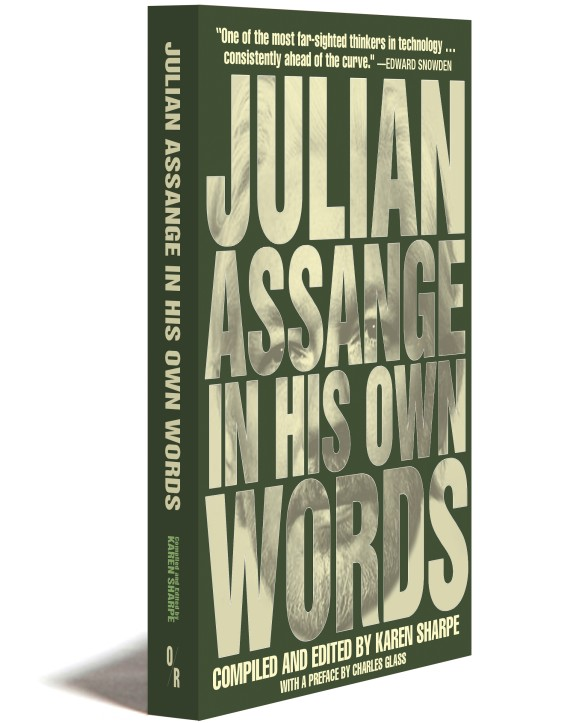 Julian Assange in his Own Words cover