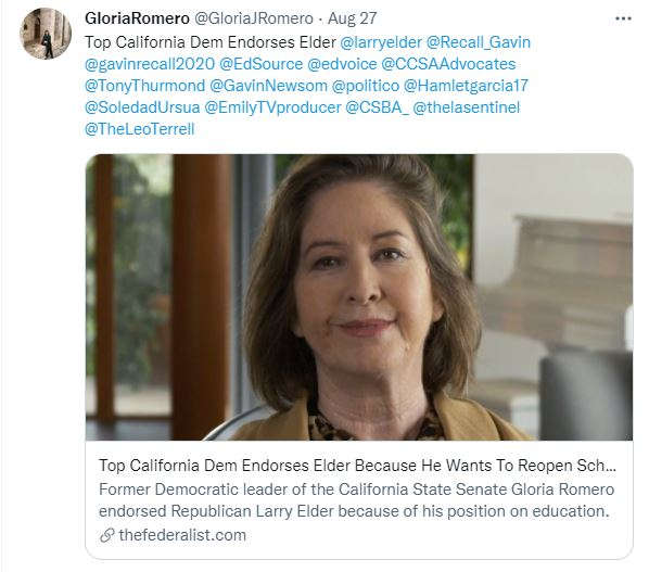'Top California Dem'? She has been out of office for almost a decade, From Uploaded